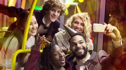 Gratis feestbussen van De Lijn op Oudejaarsnacht