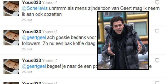 Youssef el Messaoudi. FOTO AMERSFOORT.PVDA.NL