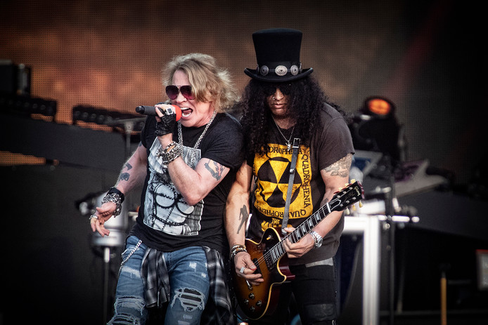 Guns N' Roses in het Goffertpark
