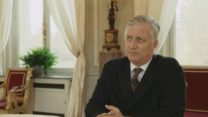 """Koning Filip praat met jongeren over mentale problemen: """"Ik heb een moeilijke jeugd gehad, een zeer moeilijke jeugd"""""""
