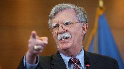 "Donald Trump ""ontslaat"" nationaal veiligheidsadviseur John Bolton"