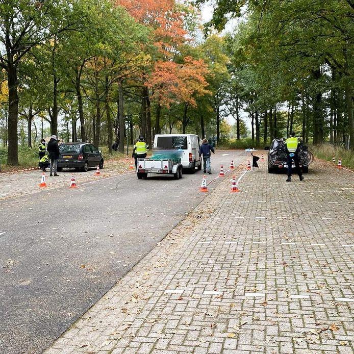 De politie schreef dinsdagochtend vijftien bekeuringen uit bij een verkeerscontrole in Eersel.