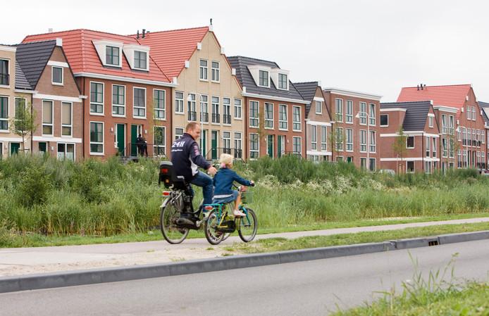 De Amersfoortse nieuwbouwwijk Vathorst. Volgens ceo Ton Hillen van bouwbedrijf Heijmans wordt er soms heel denigrerend over dit soort vinex-wijken gesproken.