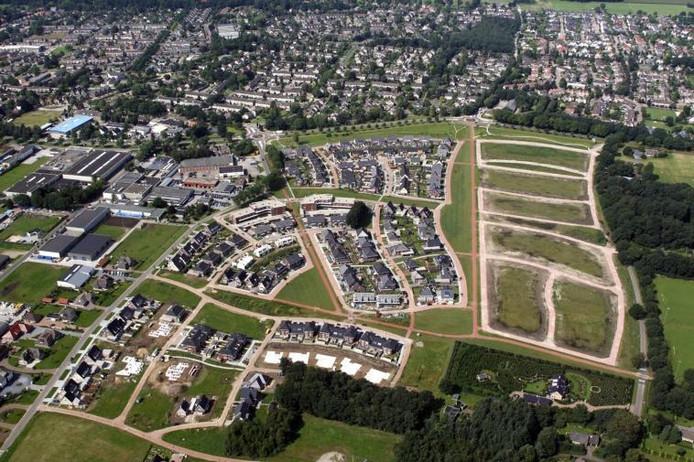 De nieuwbouwwijk Gerner Marke in Dalfsen. foto Ab Hakeboom