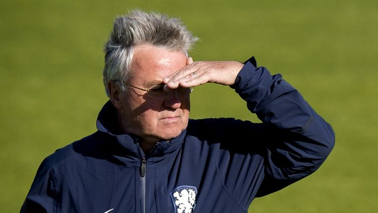 Guus Hiddink. Beeld anp