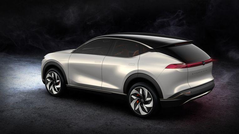 Dit studiemodel uit 2018 zou een voorbode kunnen zijn van een SUV