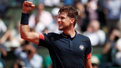 Sprookje Cecchinato ten einde: Thiem mept Italiaan uit Roland Garros op weg naar zijn eerste grandslamfinale