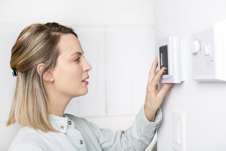 Hoe heet wordt het bij u binnenshuis? Beeld Shutterstock