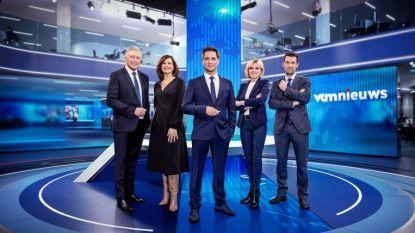 'Journaal' en 'VTM Nieuws' verliezen ruim 100.000 kijkers, vergeleken met recordpiek vorige week