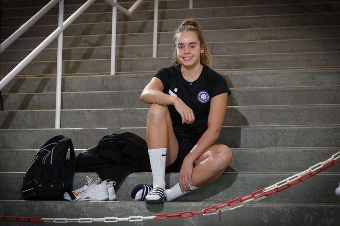 Nova Marring is een van de nieuwkomers bij Ladies Volley Limburg.