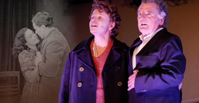 Sam en Edwin de Vries brengen met 'Westerbork Serenade' een eerbetoon aan hun (groot)vader en verzetsman Rob de Vries.