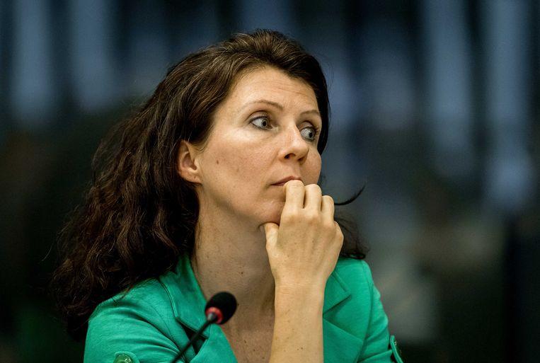 Esther Ouwehand volgt Marianne Thieme op als fractievoorzitter van de Partij voor de Dieren. Beeld ANP