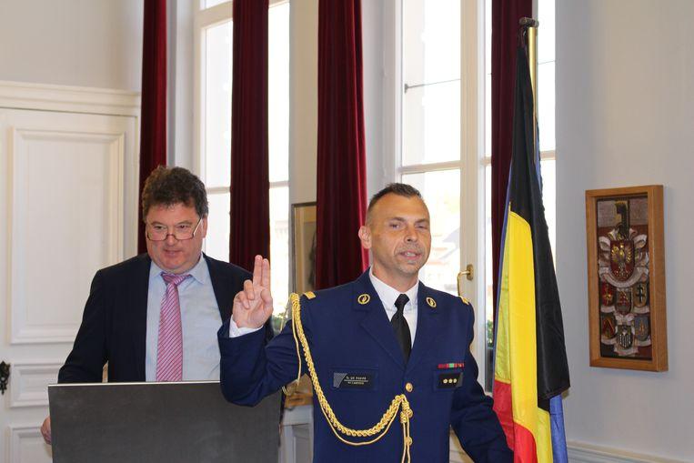 Dirk De Paepe heeft de eed afgelegd als korpschef.
