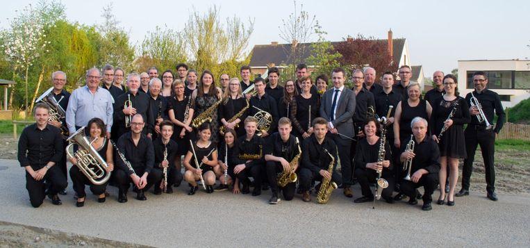 Het Harmonieorkest van Deinze.