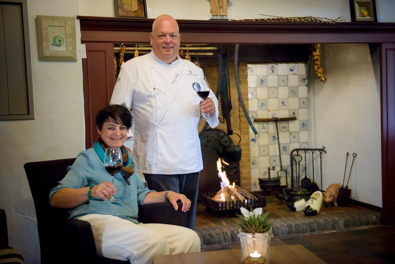 Evert Thielen en zijn vrouw Marlies inDe Getrudahoeve.