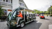 Maak kennis met de luxueuze, elektrische golfkarretjes voor groepen tot 22 personen in Knokke