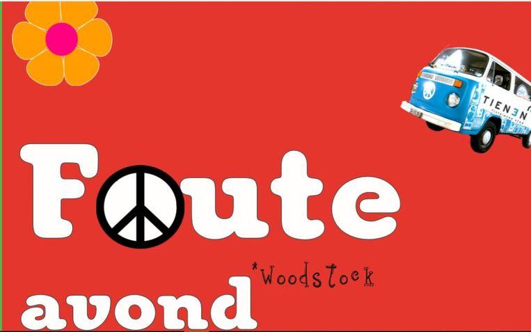 De affiche van de foute fuif in Oorbeek