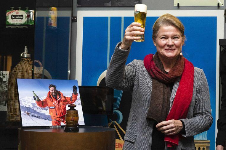 Charlene de Carvalho-Heineken staat op nummer 1 in de Quote 500. Ze is grootaandeelhouder van het brouwer.  Beeld ANP