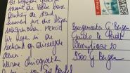 Meisjes van chiro Sint-Bartel sturen leuk bedankingskaartje vanop kamp naar burgemeester