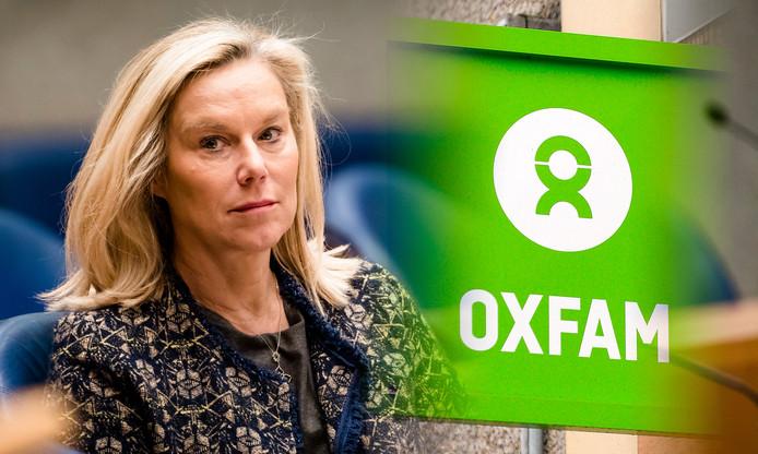 Sigrid Kaag, Minister voor Buitenlandse Handel en Ontwikkelingssamenwerking liet aan de Tweede Kamer weten dat het Britse Oxfam ook Nederlands belastinggeld kreeg.