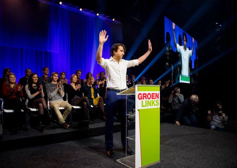Jesse Klaver van GroenLinks Beeld anp