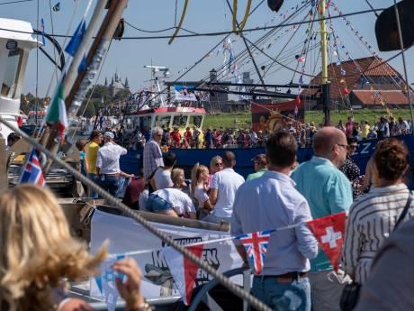 Ondanks al het gedoe rond de muntjes, beleeft Zierikzee één van de mooiste havendagen ooit