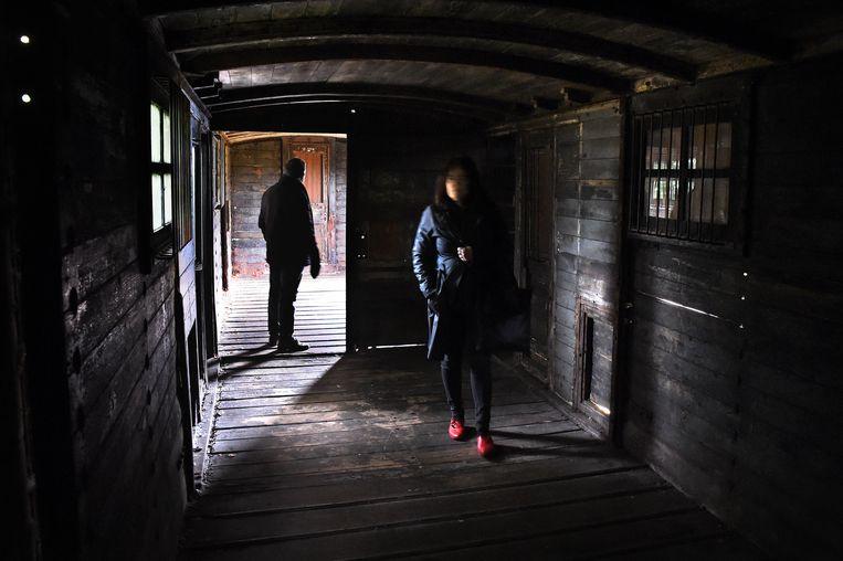 Bezoekers van Het Spoorwegmuseum in Utrecht.  Beeld Marcel van den Bergh