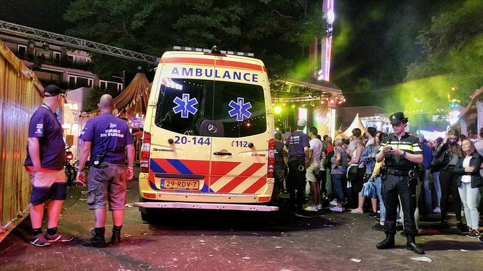 Marc van Alphen werd vorig jaar na het onwelworden over de kermis naar het ziekenhuis gebracht.