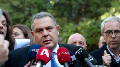 Griekse defensieminister stapt op nog voor stemming nieuwe naam Macedonië