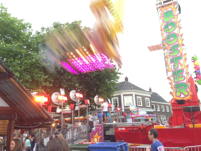 Booster Maxxx is één van de attracties dit jaar.