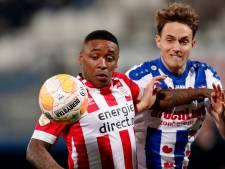 LIVE | Onrustig PSV zoekt naar ritme na snelle goal Heerenveen