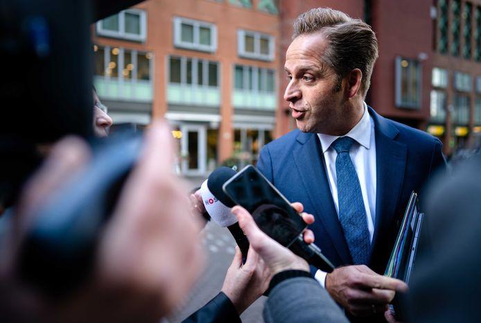 Minister Hugo de Jonge van Volksgezondheid, Welzijn en Sport.