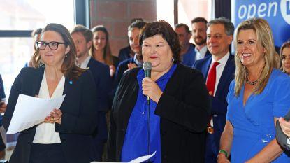 Open VLD stelt lijsten parlementsverkiezingen voor