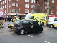 Fles tequila aangetroffen bij gewonde autobestuurder na ongeluk op Jonckbloetplein