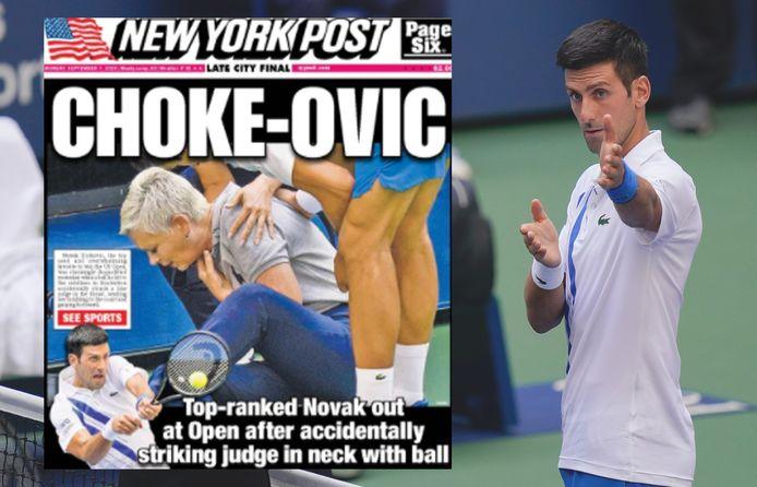 De internationale media over de diskwalificatie van Djokovic.