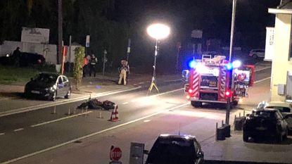 Motorrijder even in levensgevaar na ongeval op Brusselbaan