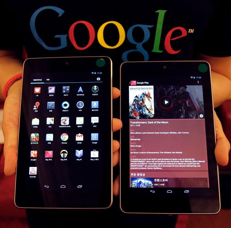 Google Nexus 7 Beeld reuters