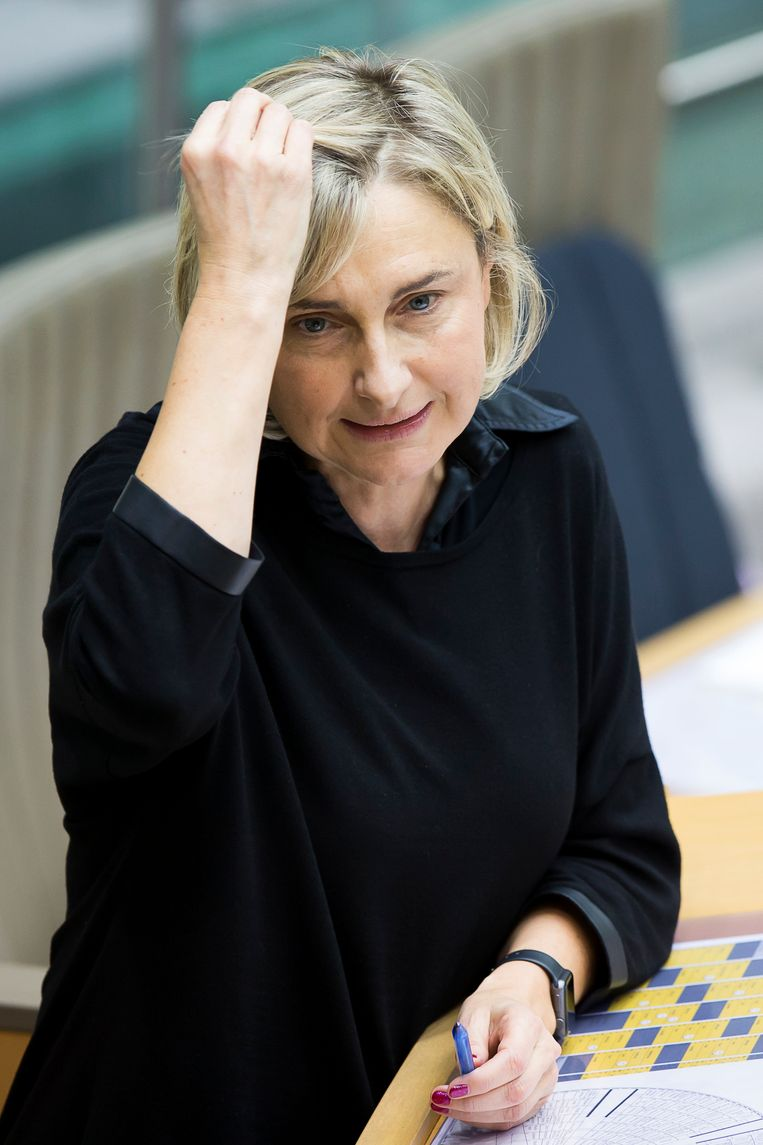 Minister van Onderwijs Hilde Crevits