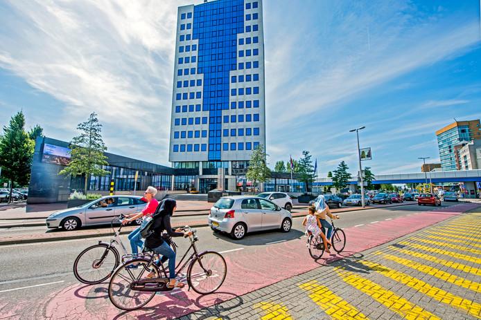 Het gemeentehuis van Capelle aan den IJssel.