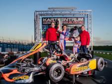 Karttalent Mitchell (10) uit Harderwijk wil de Formule 1 in, of anders de vrachtwagen