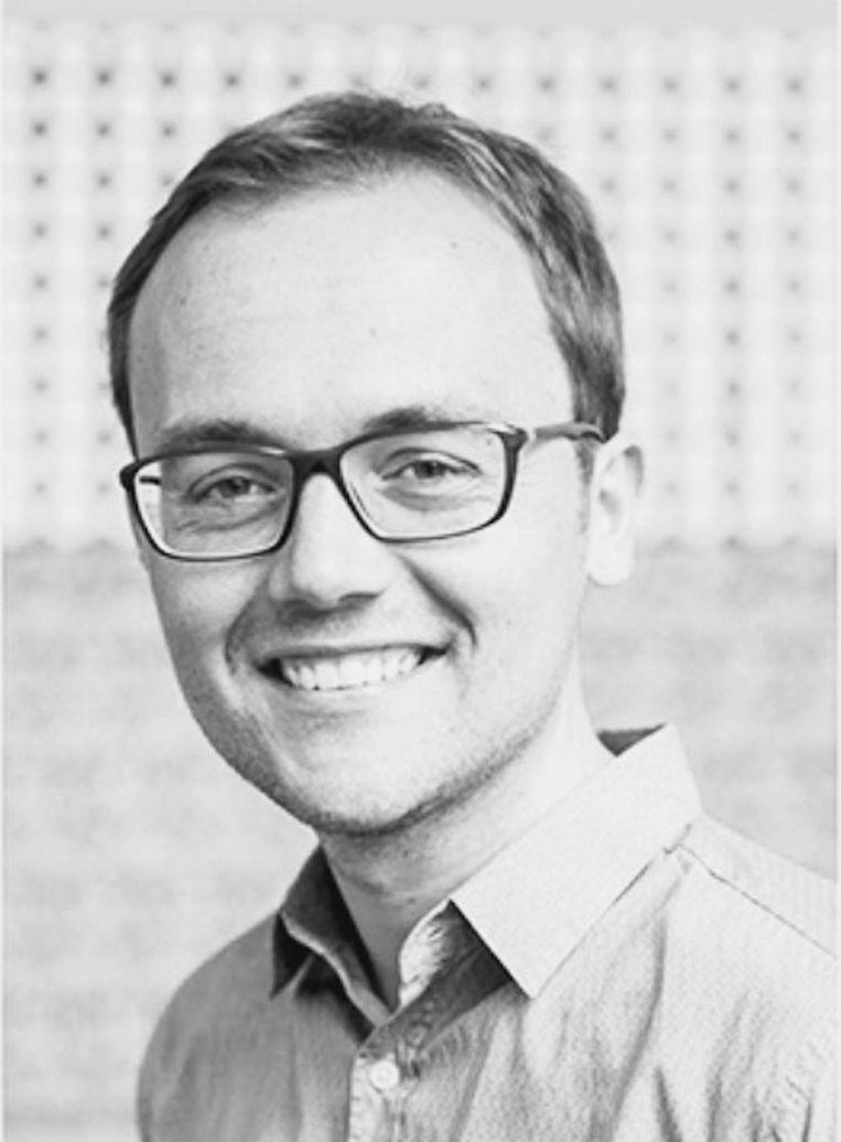Arjan Miedema is lid bestuurscommissie Amsterdam-Oost voor de PvdA. Beeld -