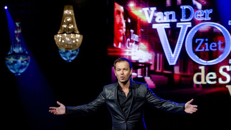 De presentatie is in handen van Peter van der Vorst Beeld anp