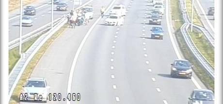 A2 tussen Den Bosch en Vught weer vrij na ongeluk