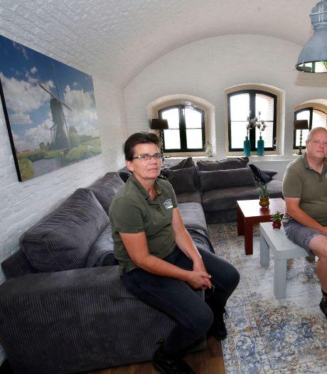 Hanny en Marco wonen in een fort met een rijk verleden: 'Je woont tussen de geschiedenis'