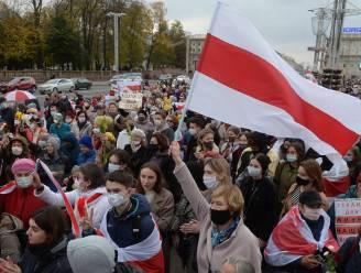 Ruim 600 betogers opgepakt tijdens eerste actiedag tegen Wit-Russisch president Loekasjenko