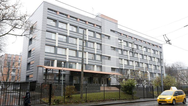 Het 'Federaal wetenschappelijk centrum voor fysieke cultuur en sport' in Moskou, waar ook het dopinglab van Grigory Rodchenkov zit. Beeld REUTERS
