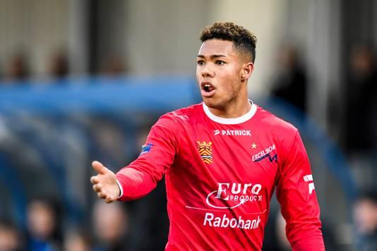 Milan van Ewijk, nog in dienst van Excelsior Maassluis, speelt volgend seizoen voor ADO Den Haag.