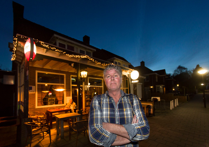 Paul Sanders van café De Muis in Geldrop.