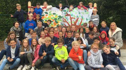 GBS De Letterboom en de gemeente Huldenberg leggen klimaatbos aan