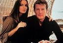 Barbara Bach en Roger Moore